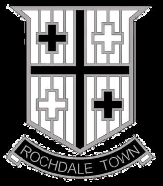 Rochdale Town F.C. - Image: Rochdale Town Logo