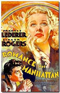 <i>Romance in Manhattan</i> 1935 film by Stephen Roberts