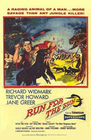 Run for the Sun - theatrical poster