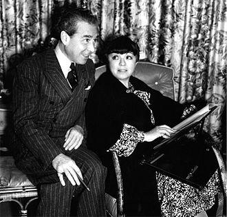 Edgar Allan Woolf - Florence Ryerson and Edgar Allan Woolf, ca 1940