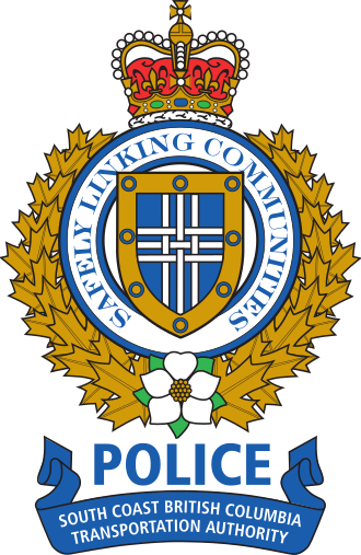 South Coast British Columbia Transportation Authority Police Service - Image: SCBCTAPS