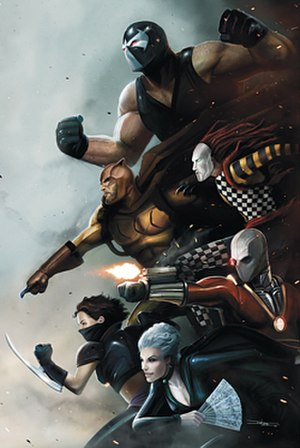 Secret Six (comics) - Image: SSIX Cv 10
