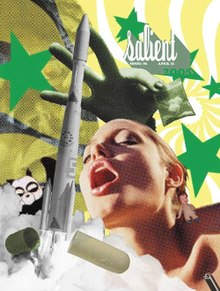 The cover of Salient magazine 11 April 2005, designed by Dave Batt