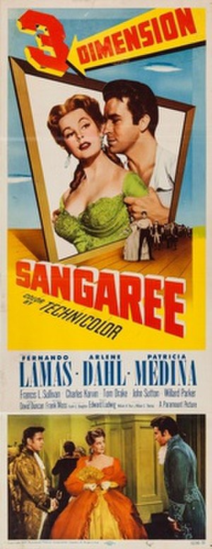 Sangaree (film) - Image: Sangaree poster 1953