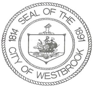 Thomas Westbrook - Seal of City of Westbrook
