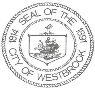 Thomas Westbrook - Seal of City of Westbrook