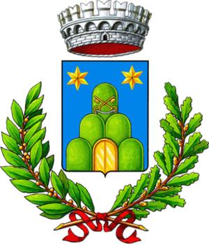 Serrapetrona - Image: Serrapetrona Stemma