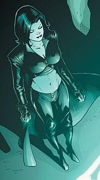 Shadow Lass Top Superheroine