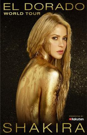 El Dorado World Tour - Image: Shakira El Dorado World Tour