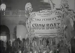 Show Boat - Opening title from the 1936 film version.