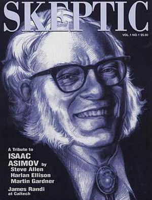 Skeptic (US magazine) - Premiere issue of Skeptic,  featuring a tribute to Isaac Asimov.