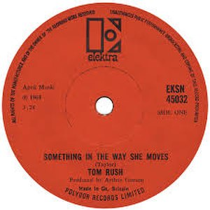 Something in the Way She Moves - Image: Something in the Way She Moves label