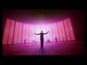 Speed of Sound (song) - The music video has a two-storey-high LED display in the background