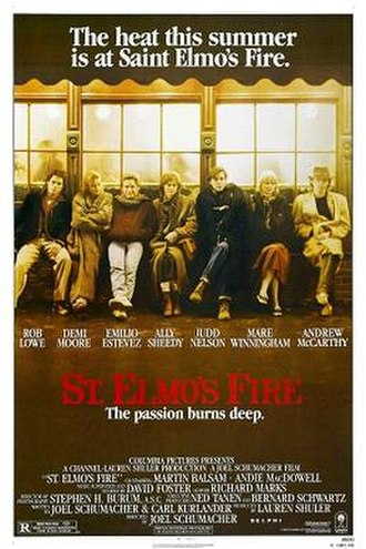 St. Elmo's Fire (film) - Image: St elmo's fire