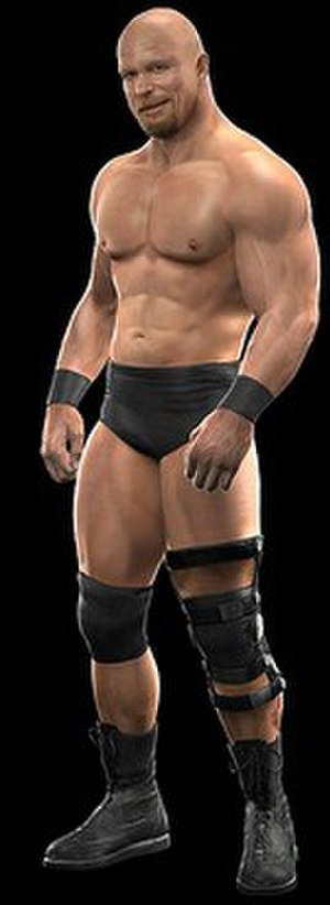 WWE SmackDown vs. Raw 2010 - Stone Cold Steve Austin character model.