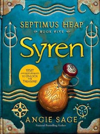 Syren (novel) - Cover art for Syren by Mark Zug