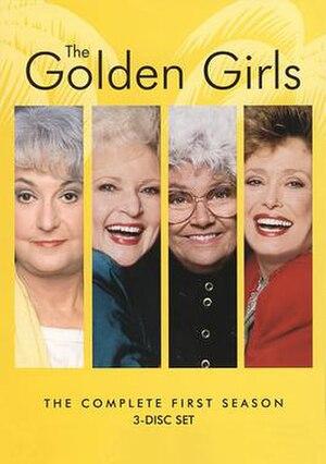 The Golden Girls (season 1) - Season 1 DVD Cover