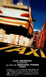 <i>Taxi</i> (1998 film) 1998 French action-comedy film directed by Gérard Pirès