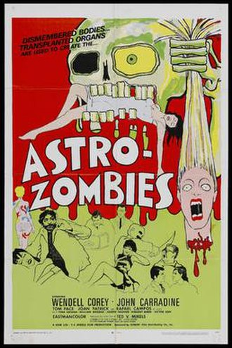 The Astro-Zombies - Theatrical release poster