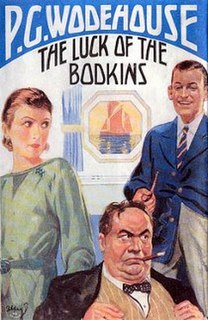 <i>The Luck of the Bodkins</i> 1935 novel by P.G. Wodehouse