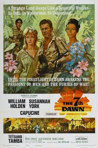 The 7th Dawn - Original film poster by Howard Terpning