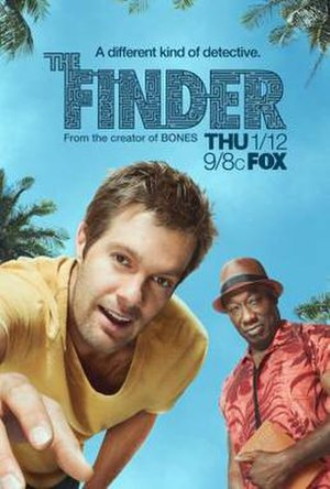 The Finder (U.S. TV series) - Promotional poster