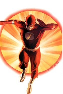 The Flash (Barry Allen) Alex Ross's art