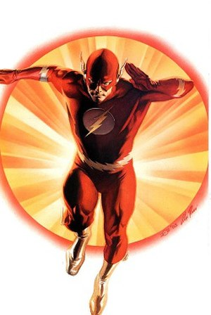 Flash (comics) - Image: The Flash (Barry Allen) Alex Ross's art