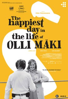 <i>The Happiest Day in the Life of Olli Mäki</i> 2016 Finnish drama film directed by Juho Kuosmanen