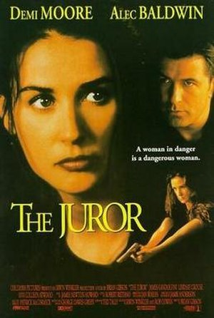 The Juror - Theatrical release poster