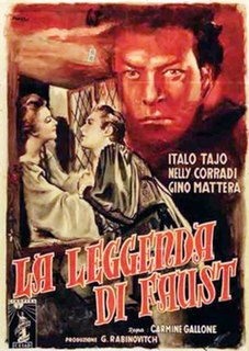 <i>The Legend of Faust</i> 1950 film by Carmine Gallone