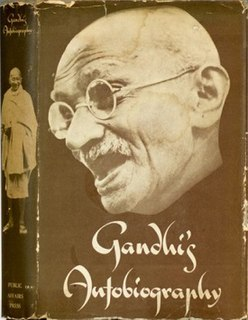 <i>The Story of My Experiments with Truth</i> autobiography of Mahatma Gandhi