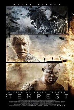 The Tempest (2010 film) - Theatrical release poster