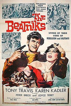 Beatnik - Poster for The Beatniks (1960)