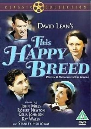 This Happy Breed (film) - DVD release cover