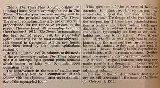 Times New Roman - Image: Times New Roman and predecessor
