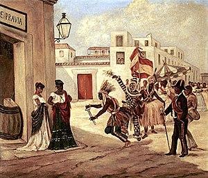 Cuban art - Tipos y Costumbres de la Isla de Cuba, Victor Patricio Landaluze, 1881.