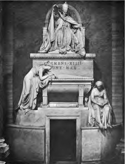 Tomb of Pope Clement XIV Gregorovius