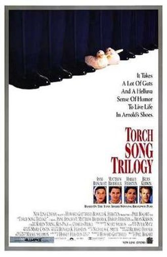 Torch Song Trilogy (film) - Theatrical release poster