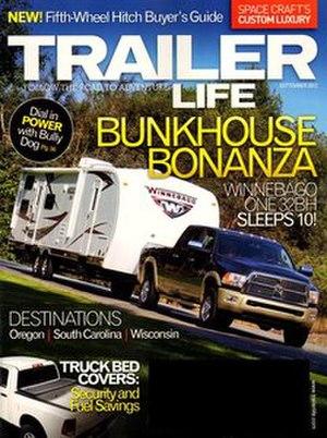 Trailer Life - Image: Trailer Life September 2012 issue
