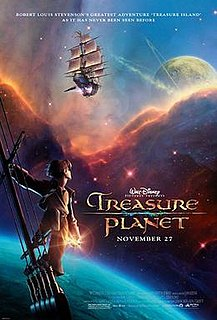 <i>Treasure Planet</i> 2002 American animated science fiction film produced by Walt Disney Feature Animation