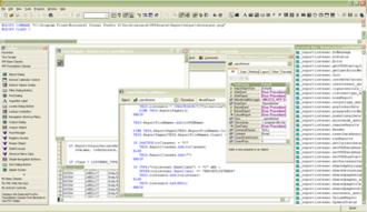 Visual FoxPro - Image: Visual Fox Pro Screenshot