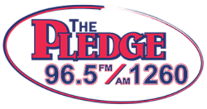 WPNW - Image: WPNW The Pledge 96.5 1260 logo