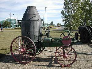Westinghouse Farm Engine - A Westinghouse Farm Engine from 1890