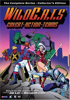 Wild C.A.T.s - Cover to the DVD release of WildC.A.T.s