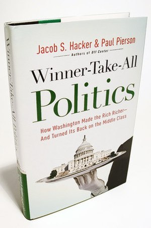 Winner-Take-All Politics - Image: Winner Take All Politics (book) cover