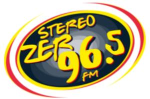 XHZER-FM - Image: XHZER stereozer 96.5 logo