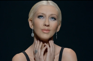 Say Something - The scene where Christina Aguilera is shown with tears welling in her eyes was praised by critics and fans alike due to her delivery.
