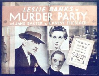 <i>The Night of the Party</i> 1935 film by Michael Powell