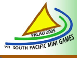 2005 South Pacific Mini Games - Image: 2005 South Pacific Mini Games Logo